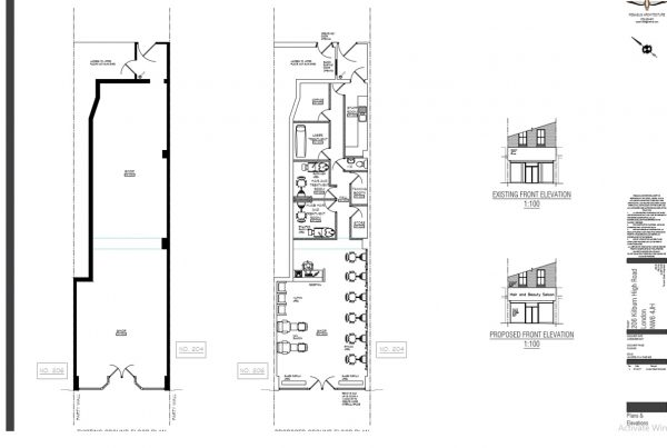 Approvals - Kilburn High Road - Floor Plan