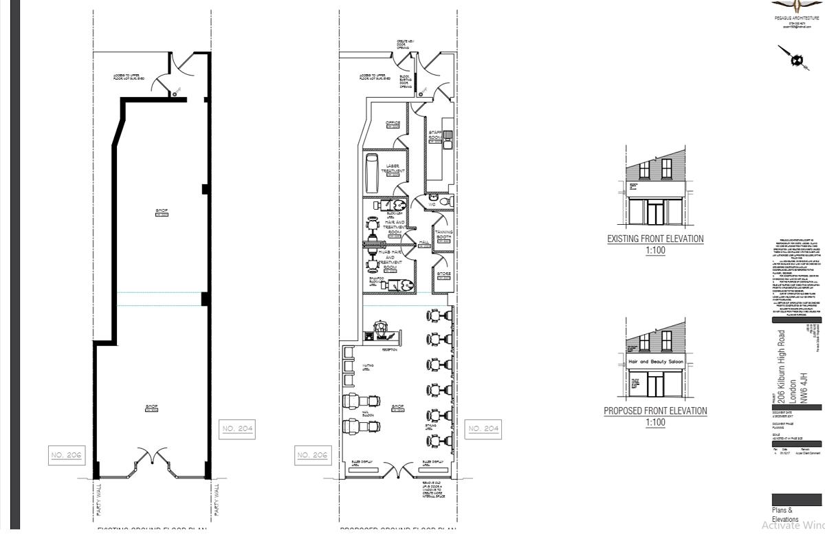 Approvals - Kilburn High Road - Floor Plan