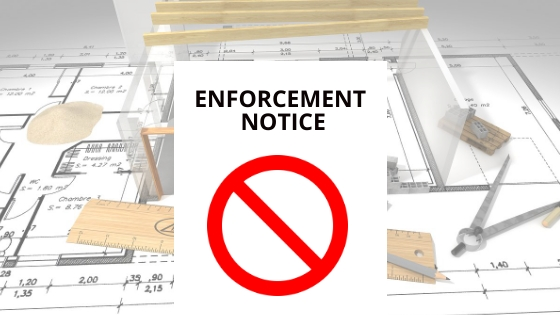 Planning Enforcement Notice Ruislip