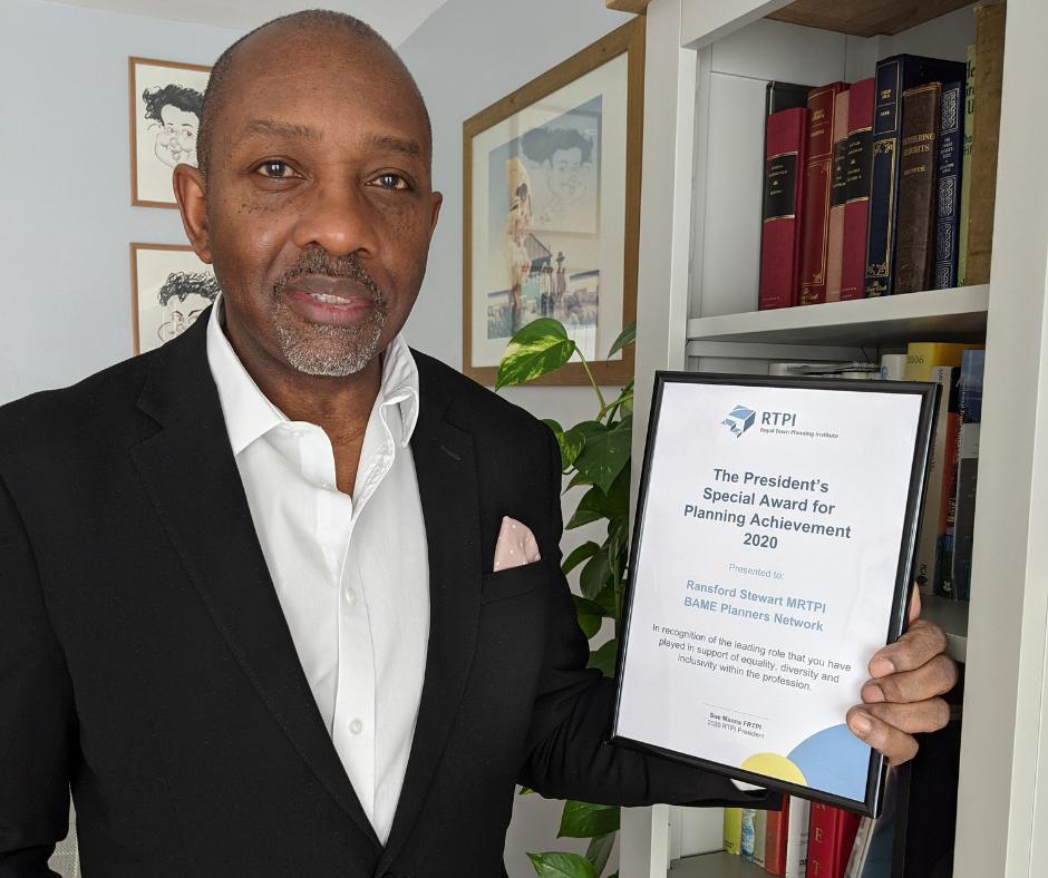 BAME Planner's Network Award